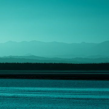 Sonnenuntergang, Nelson, Neuseeland - II (C) von Jelle IJntema