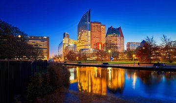 The Hague City Nightshot von Han Zuyderwijk
