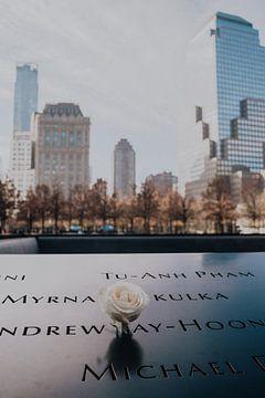 New York 9/11 memorial Amerika van Kiki Multem