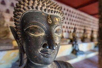Wat Si Saket in Vientiane van Theo Molenaar
