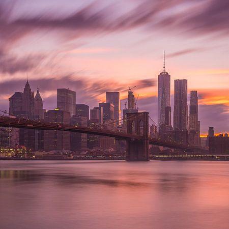 New York Skyline - Brooklyn Bridge 2016 (9)