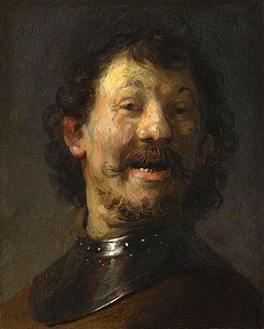 Der lachende Mann, Rembrandt van Rijn