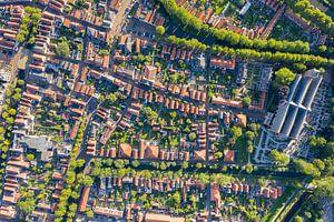 Luchtfoto Edam