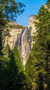 Waterval Yosemite nationaal park van
