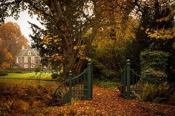 Herfstsfeer bij het kasteel De Wiersse van