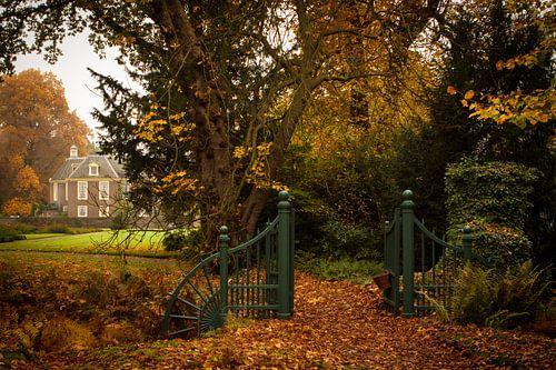 Herfstsfeer bij het kasteel De Wiersse