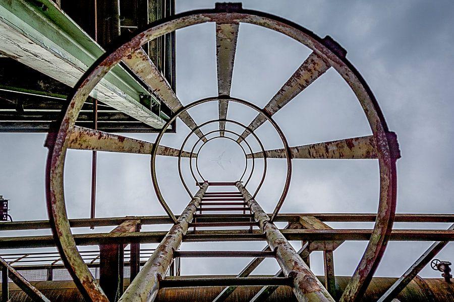 Landschaftspark trap van Danny de Jong