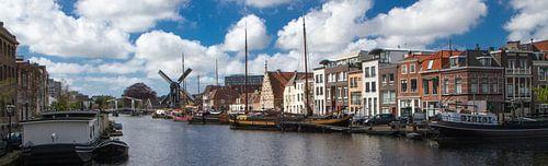 Panorama galgewater Leiden van