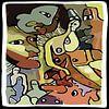 Lustobject in matte kleuren van Henk van Os thumbnail