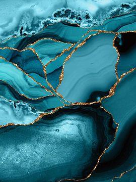 Le marbre bleu sur Uta Naumann