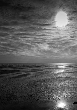 stranden van Marcel Pietersen
