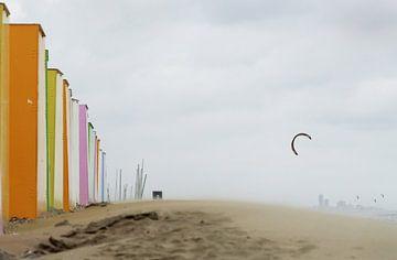 Storm op het strand van Elle Elskamp