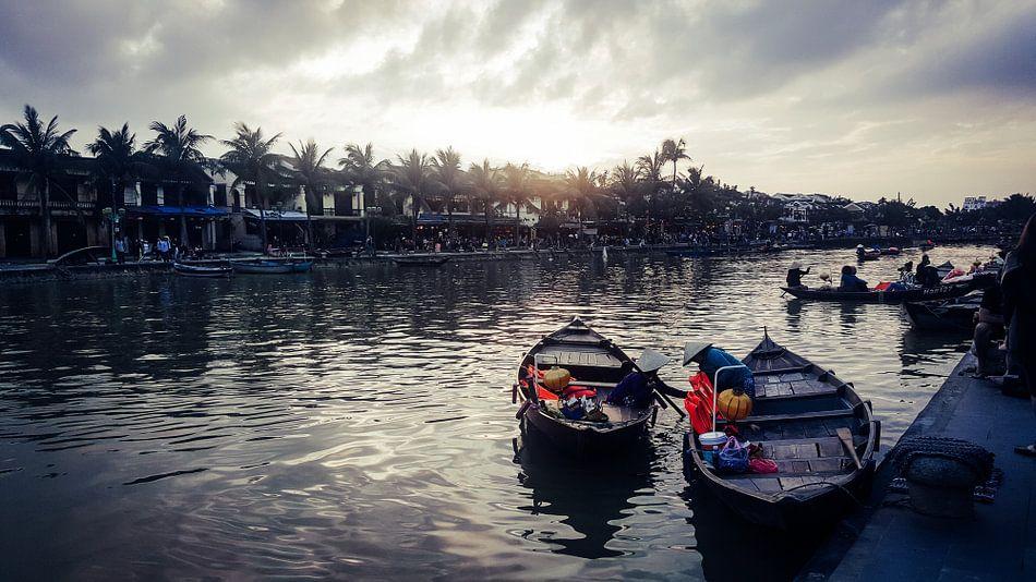 Klaar voor toeristen in Hoi An, Vietnam van Milou Oomens