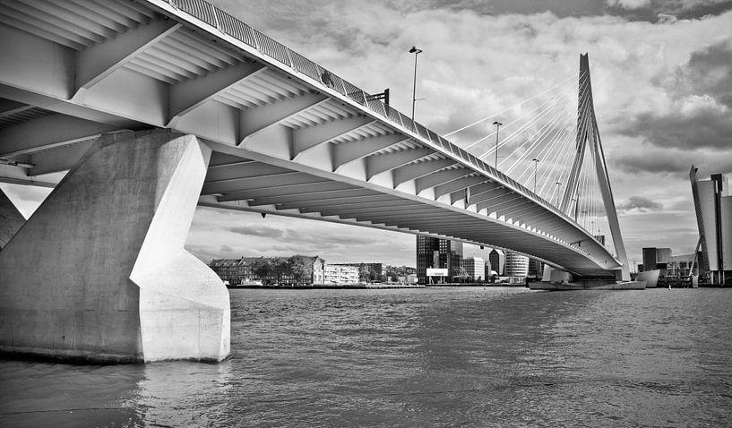 Erasmus bridge, Rotterdam van Jerome Coppo