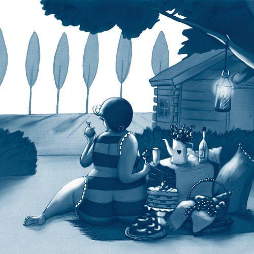 Vet Wuuf's picknick  van Bianca van Duijn