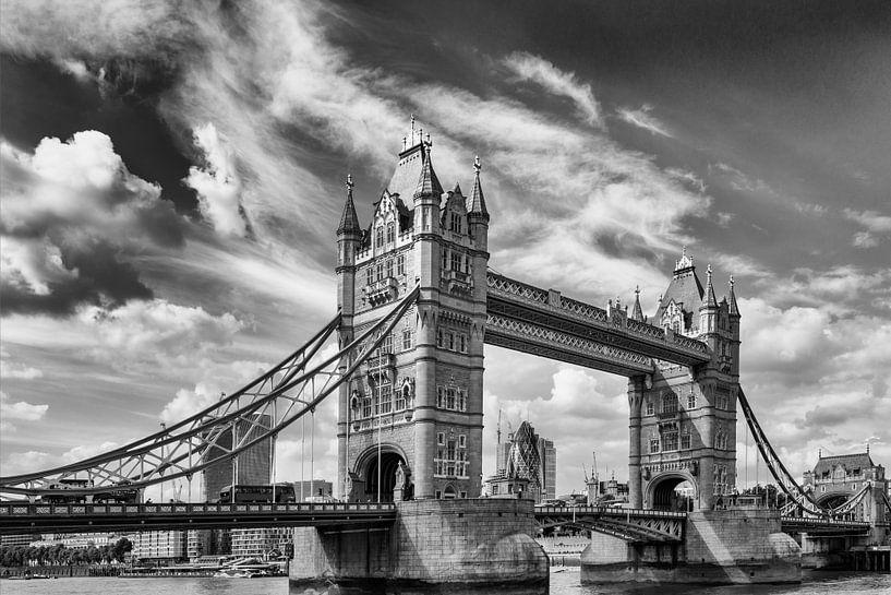 Tower bridge, London van Maerten Prins
