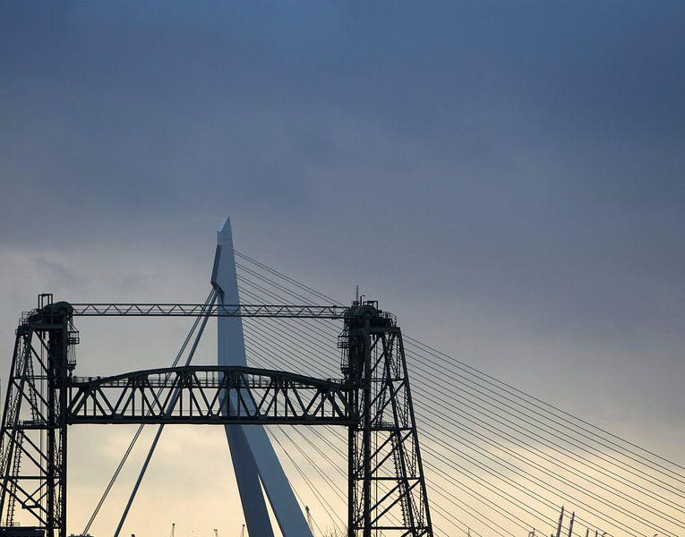 ROTTERDAM De Hef & Erasmusbrug 10 van Sybrand Treffers