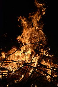 Vuur in de nacht van