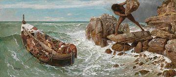 Odysseus et Polyphemus, Arnold Böcklin sur