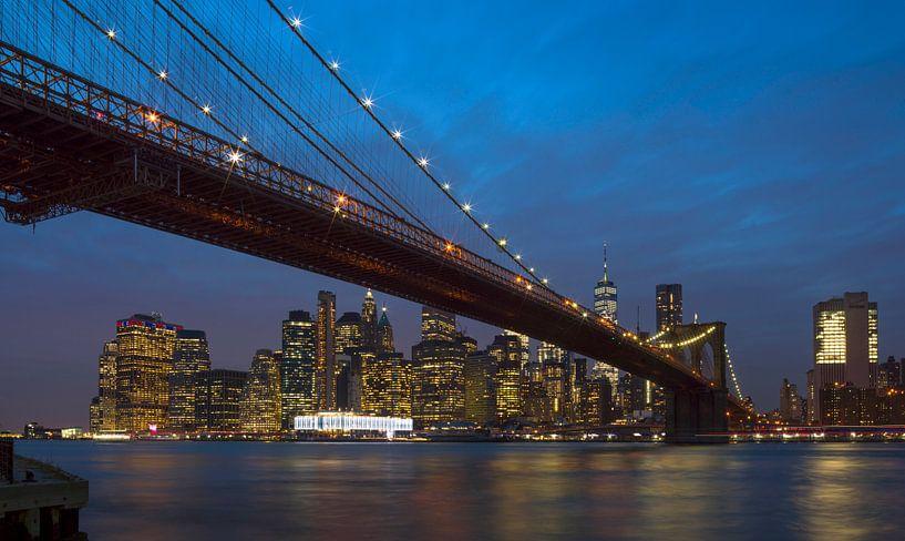 Skyline New York van Maurits van Hout