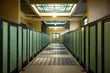 Oude badhuis - Antwerpen van Maurice Weststrate