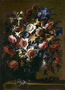 Vase à fleurs, Juan de Arellano