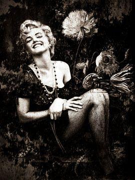Marilyn Monroe Industrial Black&Weiß von Helga fotosvanhelga