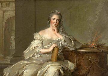 Madame Anne-Henriette de France - Der Brand, Jean-Marc Nattier