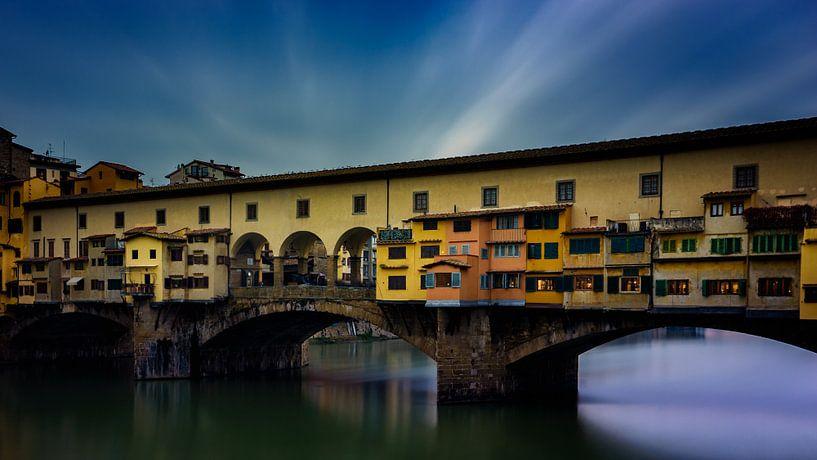 Ponte Vecchio - Florenz - Langzeitbelichtung II von Teun Ruijters