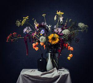 Stilleven van bloemen van