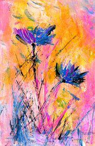 Wilde bloemen van Claudia Gründler