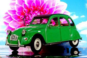 Citroën 2CV alias Ente alias Döschwo van Jean-Louis Glineur alias DeVerviers