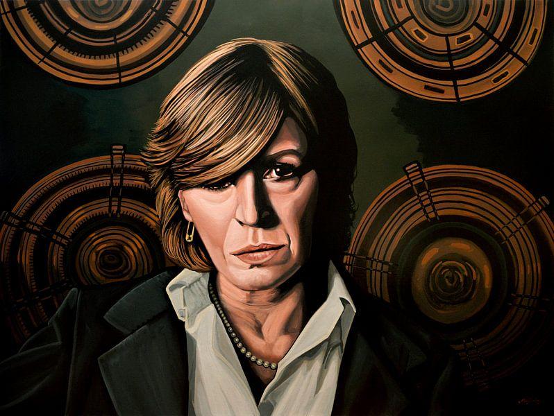Marianne Faithfull Schilderij