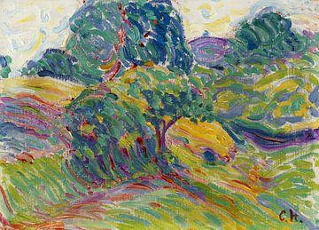 Landschaft bei Pretzfeld, CURT HERRMANN, 1905