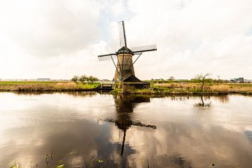 Kinderdijk windmolens van
