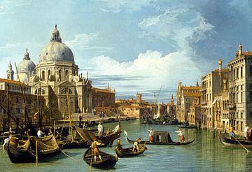 De toegang tot het Grote Kanaal, Venetië, Canaletto