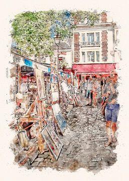 Paris Die Bouquinisten van Peter Roder