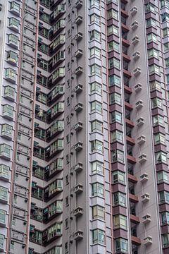 Immeuble d'appartements à Hong Kong sur Mickéle Godderis