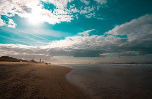 Zandvoort beach van