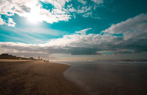 Zandvoort beach van Floor Boers