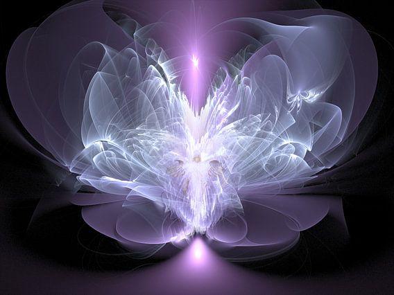 Engel van verbinding met het licht