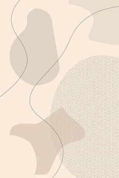 Mid-Century Modern Nr. 1 | braun von Melanie Viola