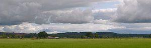 Panorama-Landschap nabij Lemele (Overijssel) van