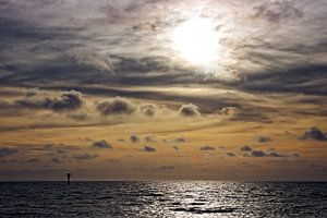 Zonsondergang Noordzee IV