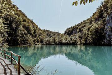 Plitvicemeren Kroatie 2 van Suzanne Fotografie