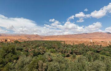 Sahara woestijn (Erg Chegaga -Marokko) van Marcel Kerdijk