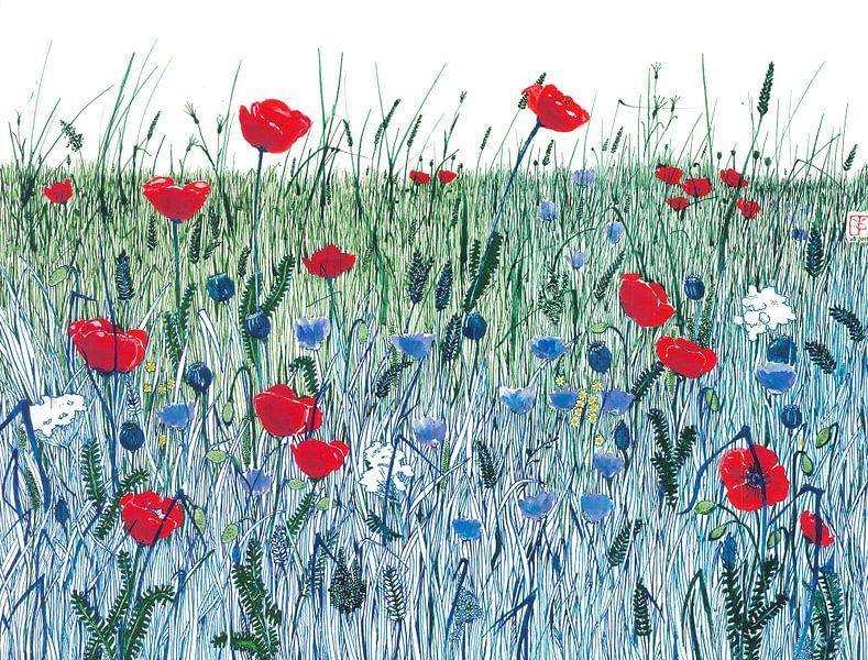 Sicco's field van Yvonne Jansen