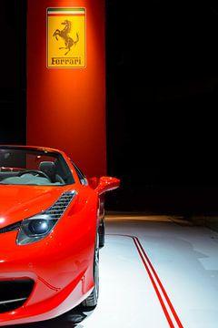 Sportwagen Ferrari 458 Spider von Sjoerd van der Wal