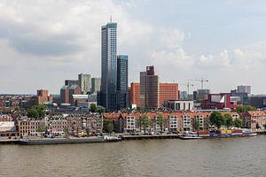 De Maastoren en het Noordereiland in Rotterdam