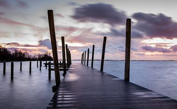 Steiger Westeinderplassen Aalsmeer von Dutch Creator